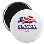 Clinton for President Magnet