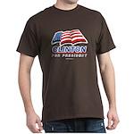 Clinton for President Dark T-Shirt