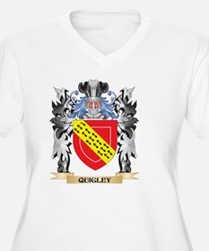 Quigley Coat of Arms - Family Cr Plus Size T-Shirt