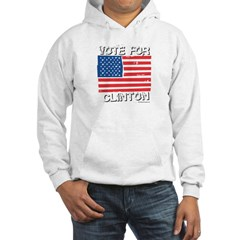 Vote for Clinton Hoodie
