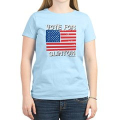 Vote for Clinton T-Shirt