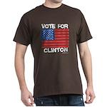 Vote for Clinton Dark T-Shirt