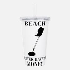 Beach Acrylic Double-wall Tumbler