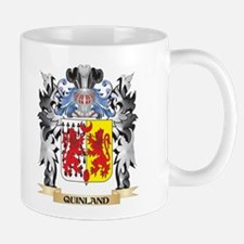 Quinland Coat of Arms - Family Crest Mugs