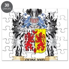 Quinland Coat of Arms - Family Crest Puzzle