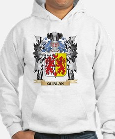 Quinlan Coat of Arms - Family Cr Hoodie