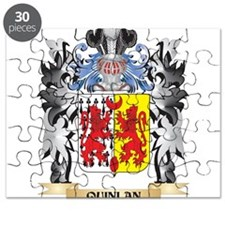 Quinlan Coat of Arms - Family Crest Puzzle