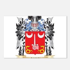 Quinn- Coat of Arms - Fam Postcards (Package of 8)