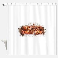 ALPD_LOGO_large_white.jpg Shower Curtain