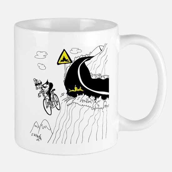 Bicycle Cartoon 9334 Mug
