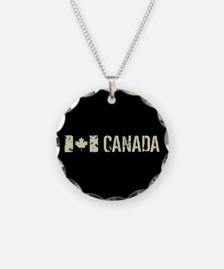 Canadian Flag: Canada Necklace