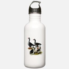 Toulouse Tufted Goose Family Water Bottle