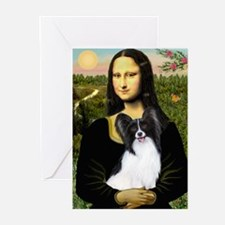 Mona's Papillon Greeting Cards (Pk of 20)