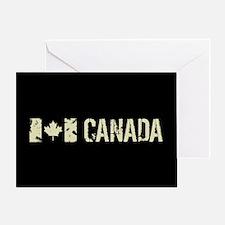 Canadian Flag: Canada Greeting Card