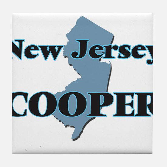 New Jersey Cooper Tile Coaster