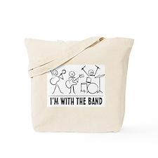 Stickman Band Tote Bag