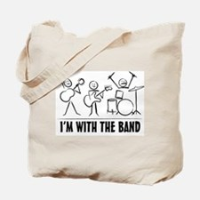 Stickman Band Tote Bag