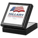Hillary for President Keepsake Box