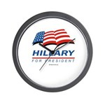 Hillary for President Wall Clock