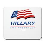 Hillary for President Mousepad