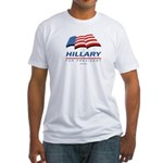 Hillary for President Fitted T-Shirt