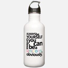 Pastel Unicorn Water Bottle