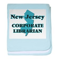 New Jersey Corporate Librarian baby blanket