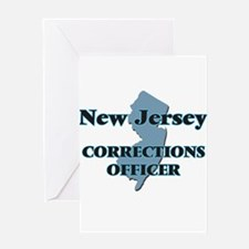 New Jersey Corrections Officer Greeting Cards