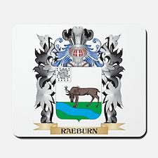 Raeburn Coat of Arms - Family Crest Mousepad