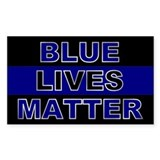 Blue lives matter Bumper Stickers