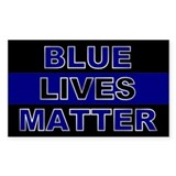 Blue lives matter Stickers