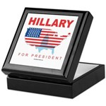 Hillary for President Keepsake Box