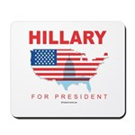 Hillary for President Mousepad