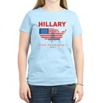 Hillary for President Women's Light T-Shirt