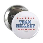 Team Hillary Button
