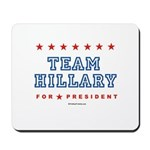 Team Hillary  Mousepad