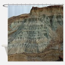 Fossil Beds Shower Curtain