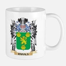 Rainals Coat of Arms - Family Crest Mugs