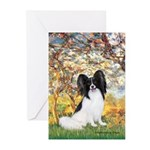 Spring & Papillon Greeting Cards (Pk of 20)