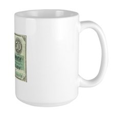Confederate $50 Bill Mug