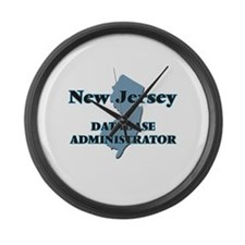 New Jersey Database Administrator Large Wall Clock