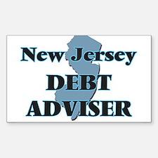 New Jersey Debt Adviser Decal