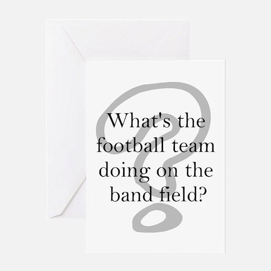 Funny Band Greeting Card