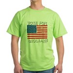 Vote for Giuliani Green T-Shirt