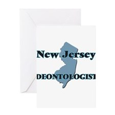 New Jersey Deontologist Greeting Cards