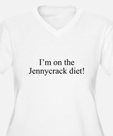 I'm on the Jennycrack diet! Plus Size T-Shirt