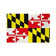 Cute State maryland Rectangle Magnet (10 pack)