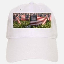 American Flag Tribute Baseball Baseball Cap