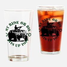 Cute Cal Drinking Glass