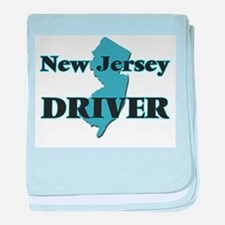 New Jersey Driver baby blanket